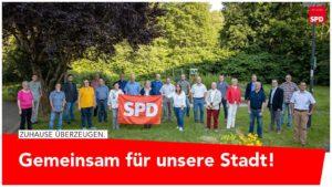 Kandidaten und Direktvertreter der SPD Bad Laasphe